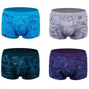 wirarpa Calecon Homme Sous Vetement Homme Modal Lot de 4 Sport Slip Boxer Microfibre de la marque wirarpa image 0 produit