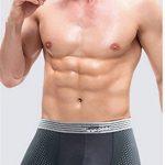 WLITTLE Homme Lot de 4 Boxers en Coton Premium avec Poche à ouverture - Ultra doux et confortable Caleçons S-XL de la marque WLITTLE image 4 produit