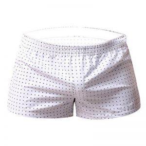 Yiiquan Homme Loisirs Slip Culotte Taille Basse de Sous-vêtements Respirants Slips Shorts Couleur Unie de la marque Yiiquan image 0 produit