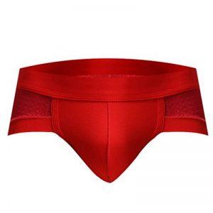 Yiiquan Hommes Cool Glace Mince Sous-vêtement Culotte Confortable Respirants en Couleur Unie de la marque Yiiquan image 0 produit
