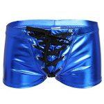 YiZYiF Homme Shorts de bain avec Lacets Boxer Sexy Wetlook S-XXL de la marque YiZYiF image 2 produit
