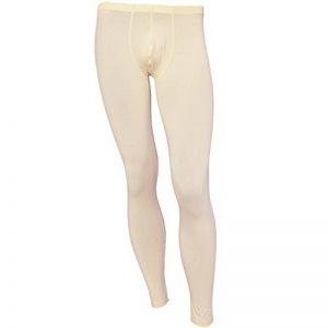 YiZYiF Hommes Pantalon Thermique Translucide Sous-vêtement Compression Trousers M-XL de la marque YiZYiF image 0 produit