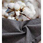 ZLYC Mens Long Box Slip Sous-vêtements en coton, 3/4 Pack de la marque ZLYC image 2 produit