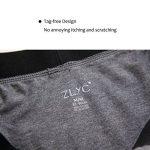 ZLYC Mens Long Box Slip Sous-vêtements en coton, 3/4 Pack de la marque ZLYC image 4 produit