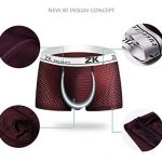 Zuku Life underwear Hommes Mesh Respirant Surface Glacée soie Boxers Trunk de la marque ZUKULIFE image 1 produit